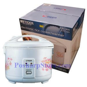 Picture of Tiger JNP-1800 10-Cup Electric Rice Cooker
