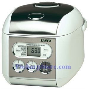 Picture of Sanyo ECJ-S35S 3.5-Cup Micom Rice Cooker