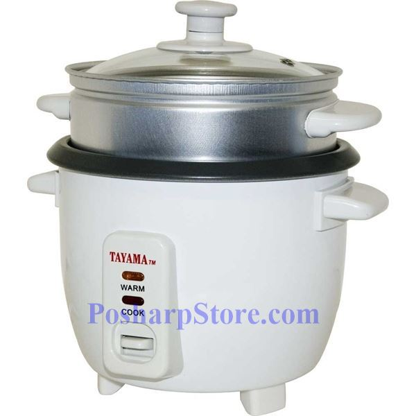 Electric Rice Steamer ~ Tayama tc cup electric rice cooker and food steamer