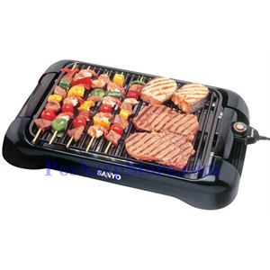 Picture of Sanyo HPS-SG3 Electric Indoor Barbeque Grill, Black