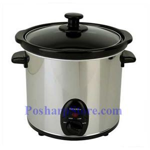 Picture of Tayama TSC-30 3 Liters Stainless Steel Slow Cooker