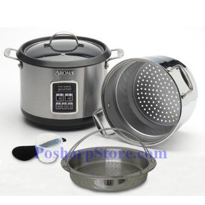 Picture for category Aroma ARC-560 10 Cup Digital Rice Cooker Pasta Gourmet Cooker