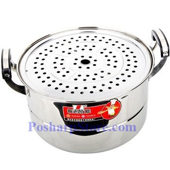 Picture for category Zhenneng 12 InchTwo-Plate Multi-functional Stainless Steel Steamer Pot