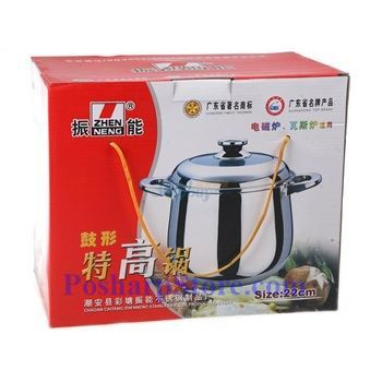 Picture for category Zhenneng High Stainless Steel Stock Pot