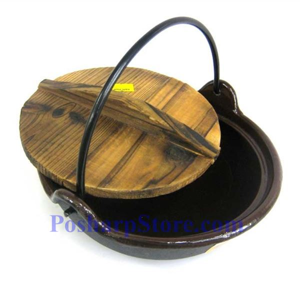 Picture for category Cast Iron Pan  7 Inch  w/ Wooden Lid  & Base