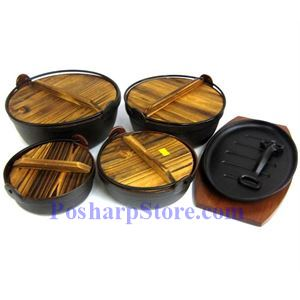 Picture of Cast Iron Nabe Pot Set
