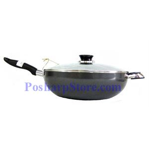 Picture of Myland 32CM Non-Stick Flat Bottom Wok
