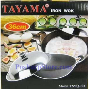 Picture for category Tayama TSYQ-136 36CM Iron Wok