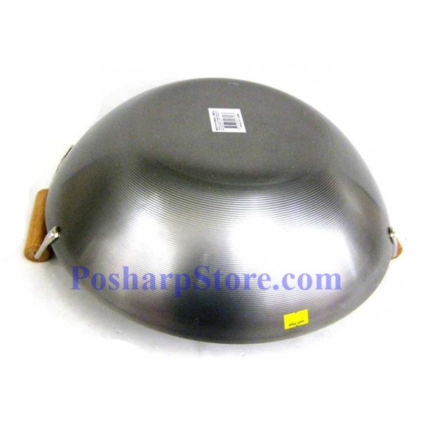 Picture for category Double Wood Handle Iron Wok
