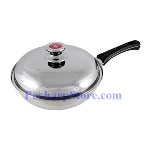 Picture of Pearl House Triple Bottom Stainless Steel Fry Pan