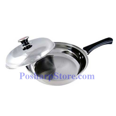 Picture for category Pearl House Triple Bottom Stainless Steel Fry Pan
