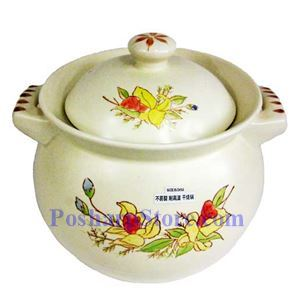 Picture of Myland K308-2 Extra Large Earthenware Casserole/Sandpot