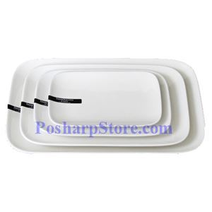 Picture of Round Edged Rectangle Porcelain Plate PHP-A004-38