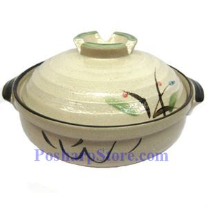 Picture of CD9/I 10.5 Inch Round Covered Clay Pot/Bowel