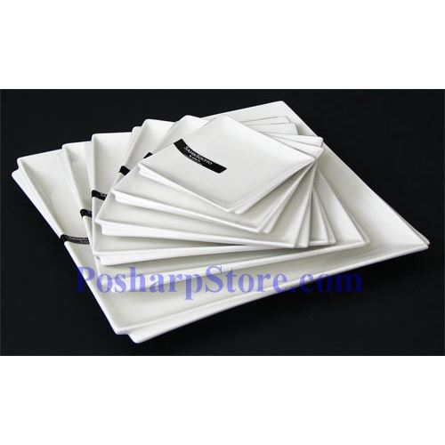 Picture for category White Sallow Square Plate PHP-A001-50