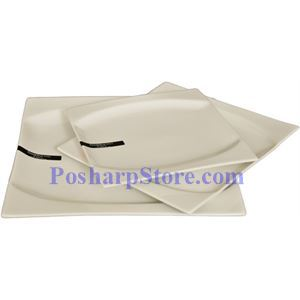 Picture of White Square Porcelain Plate PHP-A001-69