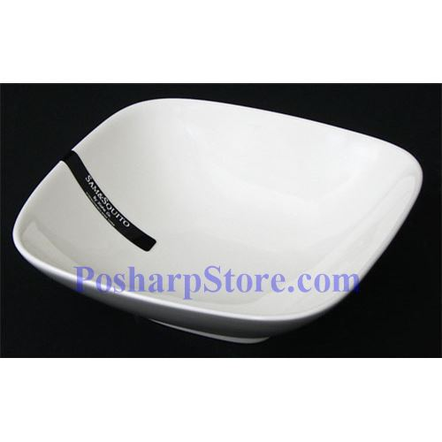 Picture for category White Rhombus Porcelain Bowl PHP-B004-38