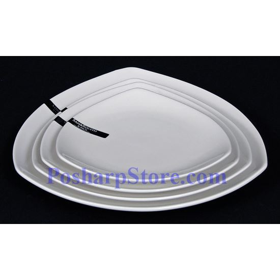 Picture for category White Triangle Porcelain Bowl PHP-A052