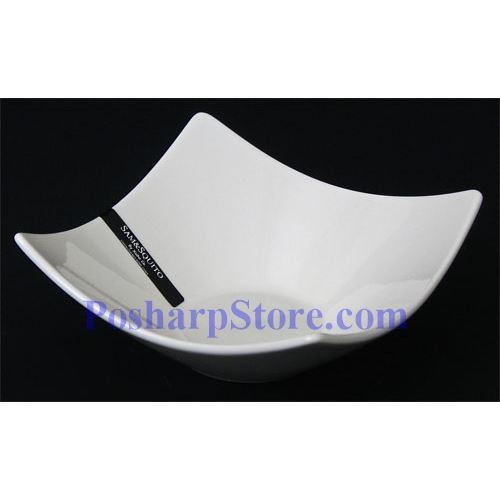 Picture for category White Rhombus Porcelain Bowl PHP-B139