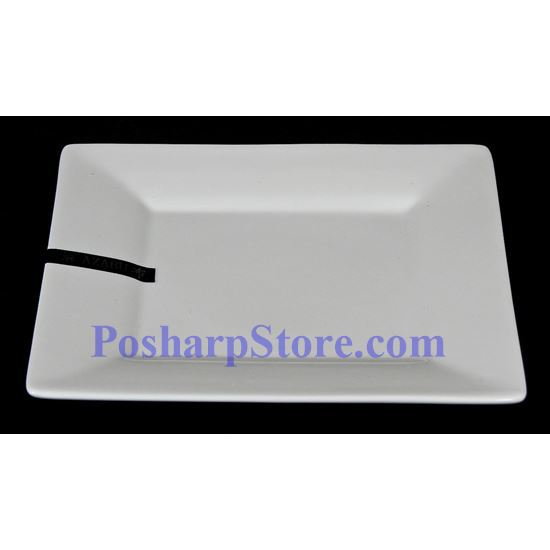 Picture for category White Rhombus Porcelain Plate PHP-A0921