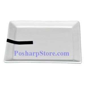 Picture of White Square Porcelain Plate PHP-A1227