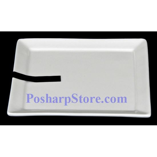 Picture for category White Square Porcelain Plate PHP-A1227