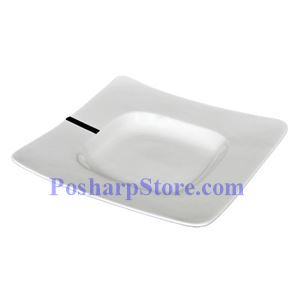 Picture of White Wide Rimmed Square Porcelain Bowl PHP-A5914