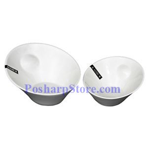 Picture of White Oval Fashion Porcelain Bowl PHP-A4308