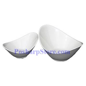 Picture of White Oval Porcelain Bowl PHP-A5667