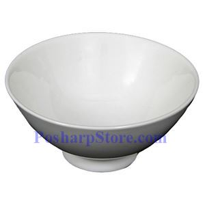 Picture of White Round Shallow Porcelain Bowl PHP-A3826