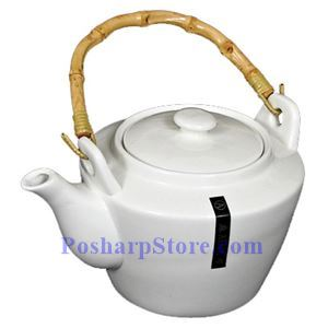 Picture of White Large Porcelain Teapot PHP-A6854