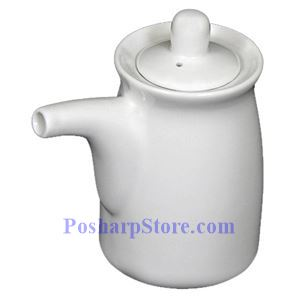 Picture of White Porcelain Sauce Pot PHP-A7097