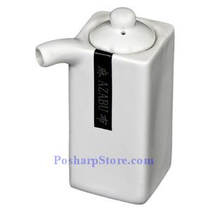 Picture of White Porcelain Soy Sauce Pot PHP-A11042