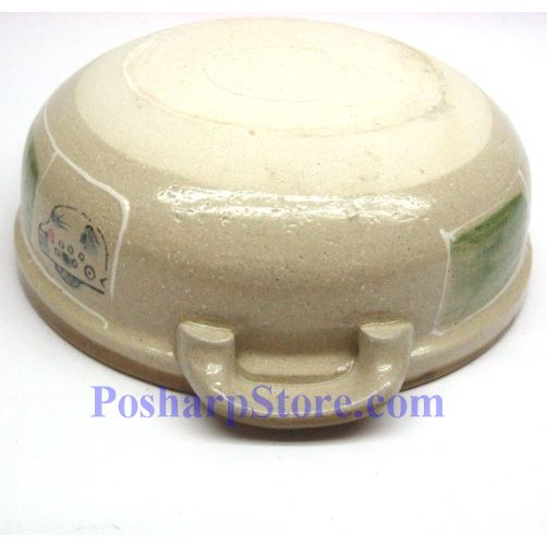 Picture for category CD8/F 9 Inch Round Covered Clay Pot/Bowel