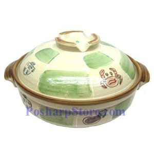 Picture of CD10/F 11.5 Inch Round Covered Clay Pot