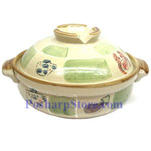 Picture of CD8/F 9 Inch Round Covered Clay Pot/Bowel