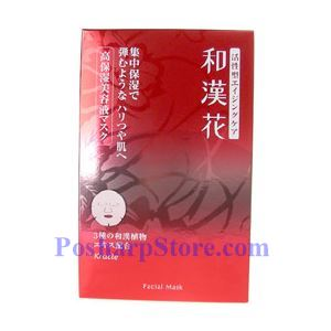 Picture of Kanebo Kracie Wakanka Facial Super Moist Mask