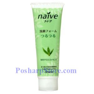Picture of Kracie Naive Facial Cleansing Foam Aloe