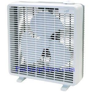 Picture of Comfort Zone CZ10B 10 Inch Box Fan With Cost Effective Operation