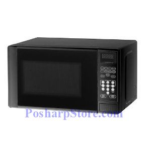Picture of Haier MWM0701TB 2/3-Cubic-Foot Countertop Microwave Oven, Black