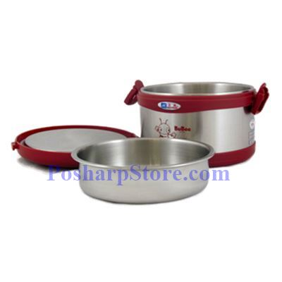 Picture for category BuBee J-950EB Two Layer Stainless Steel Vacuum Meal Box