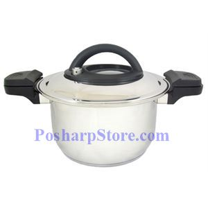 Picture of Myland Double Handler Stainless Steel Pressure Cooker
