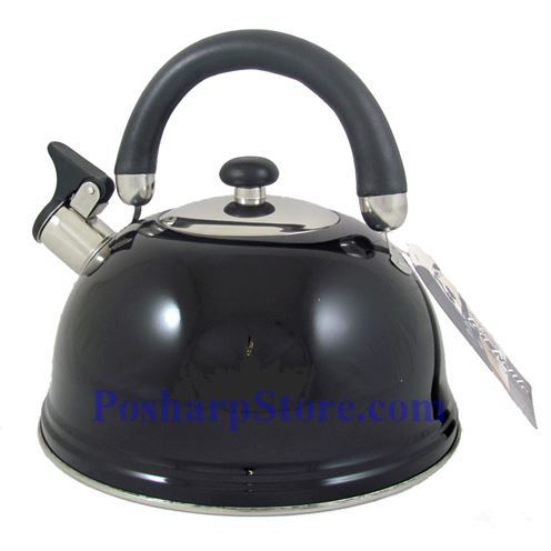 Picture for category Whistling Spout 12 Cup Stainless Steel Tea Kettle with Folding Handle