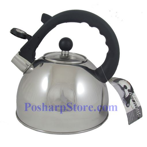 Picture for category One-Touch Whistling Spout Tea Kettle With Glass Lid