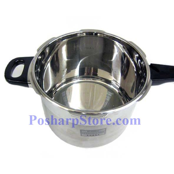 """Picture for category Myland 9"""" Multi-Insurance S/S Pressure Cooker with Extra  Glass Lid"""