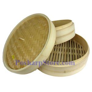 Picture of Myland 10 Inch Bamboo Steamer Basket