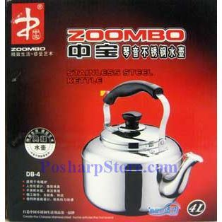 Picture for category Zoombo DB-3 3-Liter Qinyin Stainless Steel Kettle