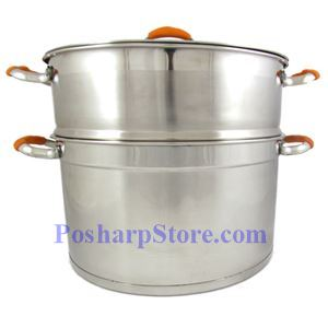 Picture of Meidalai 28CM Double Tier Stainless Steel Steam pot