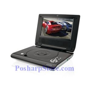 Picture of  GPX PD708B 7-Inch Portable DVD Player