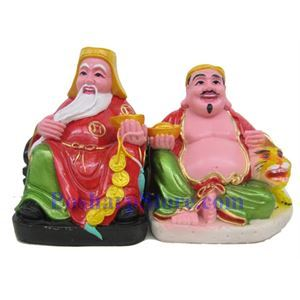 Picture of Vietnamise Buddha Stone Statuette Set
